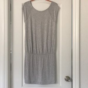 Lou & Grey soft bunched at waist dress Sz small